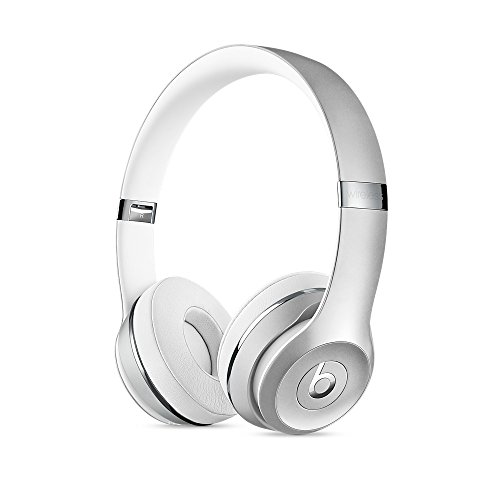 Beats by Dr.Dre ワイヤレスヘッドホン Beats Solo3 Bluetooth対応 密閉型 オンイヤー リモコン有り シルバー MNEQ2PA/A BT SOLO3 WL SLV 【国内正規品】