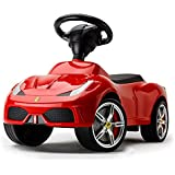 Officially Licensed Ferrari 458 Speciale Foot-to-Floor Kids Ride On Car, Red