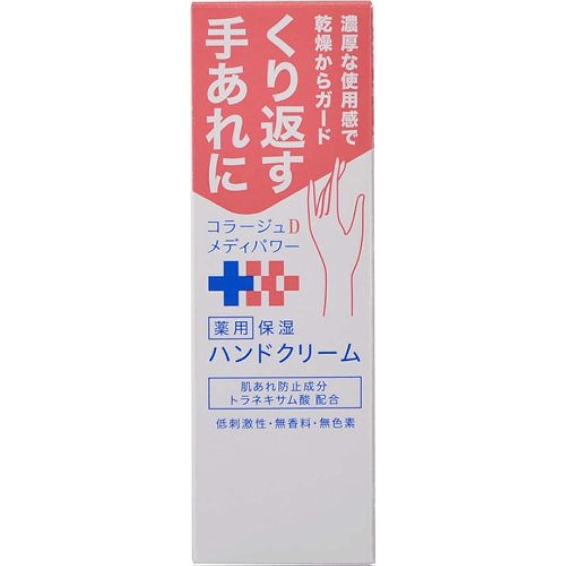 敬礼開発横コラージュ D メディパワー 保湿ハンドクリーム 30g 【医薬部外品】