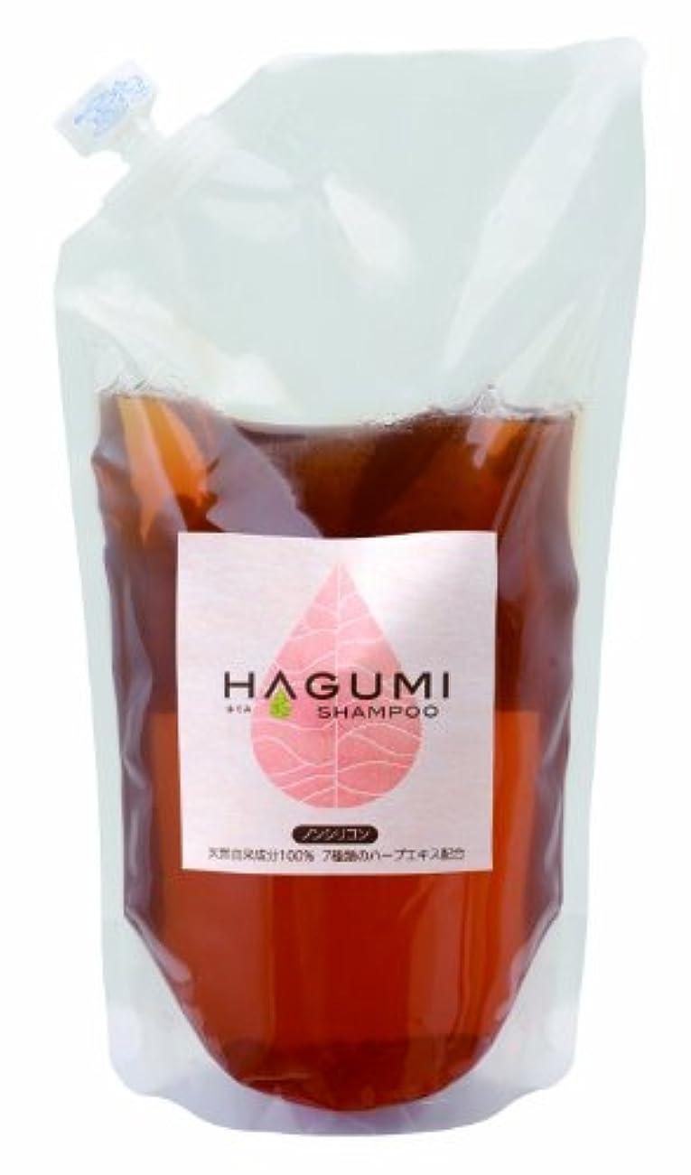 血色の良いフォルダスピンHAGUMI(ハグミ) シャンプー 400ml