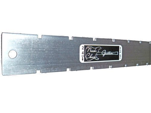 Guitar Neck Straight Edge (Notched) Luthiers Tool