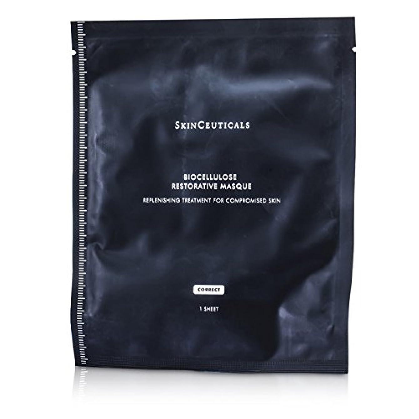 サラミ浴赤道スキンシューティカルズ バイオセルロース リストレーティブマスク 6sheets並行輸入品