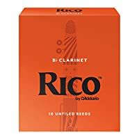 RICO リード Bbクラリネット 強度:2.5(10枚入)アンファイルド RCA1025