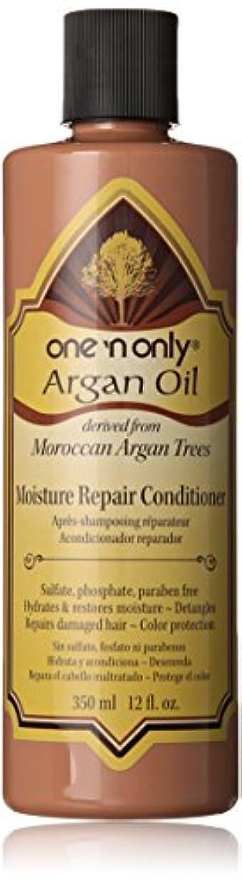 パントリーヒープ傷つけるOne N' Only Argan Oil Moisture Repair Conditioner, 355 ml (並行輸入品)