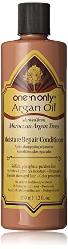 帝国主義見落とす認可One N' Only Argan Oil Moisture Repair Conditioner, 355 ml (並行輸入品)