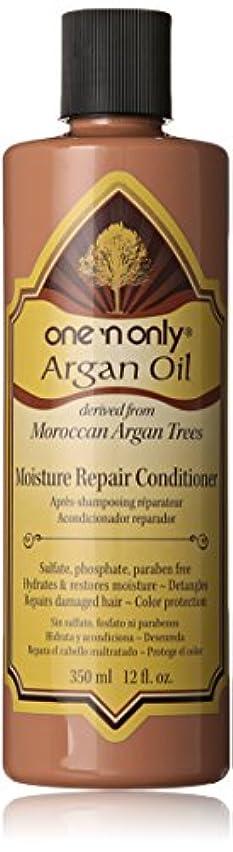 ただやるスポンジ単にOne N' Only Argan Oil Moisture Repair Conditioner, 355 ml (並行輸入品)