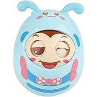 Acogedor 赤ちゃんの玩具 可愛くて面白い玩具 笑顔 目が点滅できる玩具 甘い音が鳴り 個性で綺麗 全三色(ブルー)