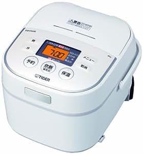 タイガー IH炊飯器 「炊きたて」 tacook 3合 ホワイト JKU-A550-W