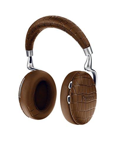 Parrot Zik 3 密閉型 ワイヤレスヘッドホン ノイズキャンセリング Bluetooth NFC Qiワイヤレス充電 Apple Watch対応 Brown Crocodile PF562033 国内正規品