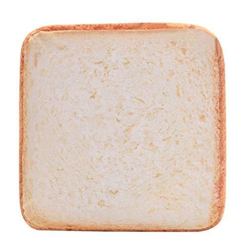 QZSKY 食パン型ソファ ペット用ベット 食パン クッション マット 猫用ソファ 犬用クション ふわふわ 食パンソファベッド 食パン型座布団 猫用ベッド 四季通用 高品質 38 * 38cm
