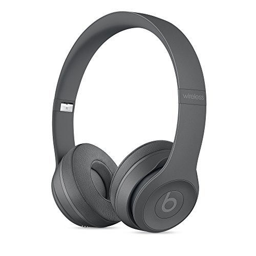 Beats by Dr.Dre ワイヤレスオンイヤーヘッドホン Beats Solo3 Wireless 連続再生約40時間 Bluetooth対応 W1チップ搭載 密閉型 通話可能 リモコン有り Neighborhood Collection アスファルトグレー MPXH2PA/A 【国内正規品】
