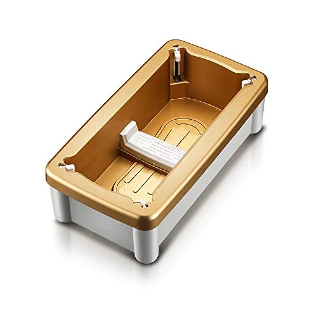 チャネル効率的に留まる靴カバーマシンホーム自動使い捨て靴マシンオフィス足型機スマートフットカバー変更靴カオスを避けるために (Color : Gold)