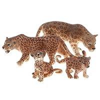 ジャガーモデル 動物モデル 知育玩具 教育玩具 4個入り