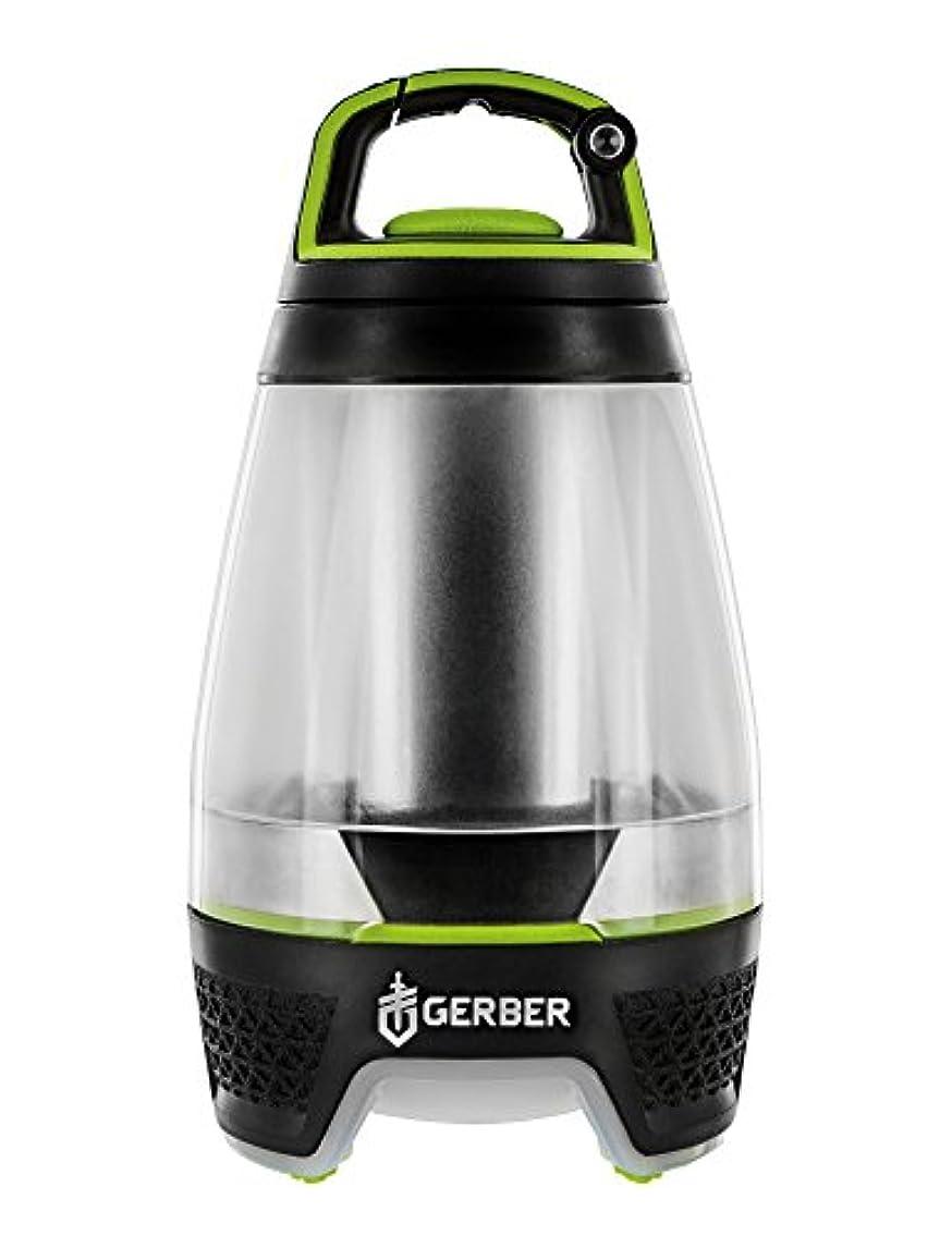 計画的構造的政治家のFreescape Lantern, Black/Green Trim, 80lm, 4x AA