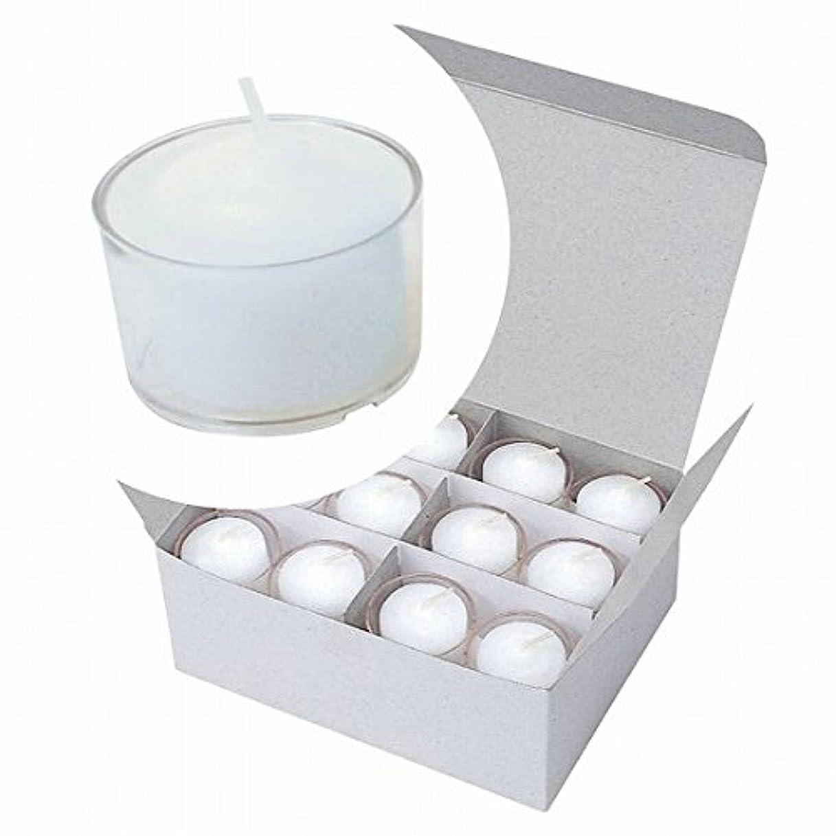 被る気候の山ラグカメヤマキャンドル(kameyama candle) カラークリアカップボーティブ6時間タイプ 24個入り 「 クリア 」