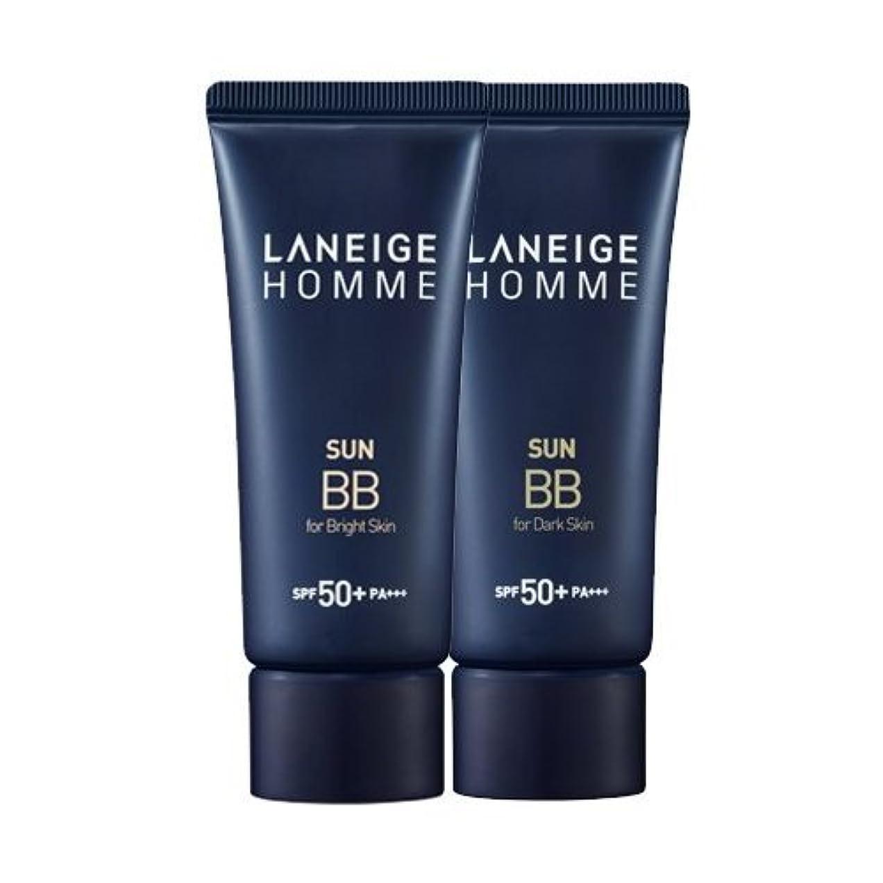 フィット記憶に残る故意のKorea Cosmetics 2014 Advanced Laneige Homme Sun BB Cream (SPF50+/PA+++) - #Dark skin