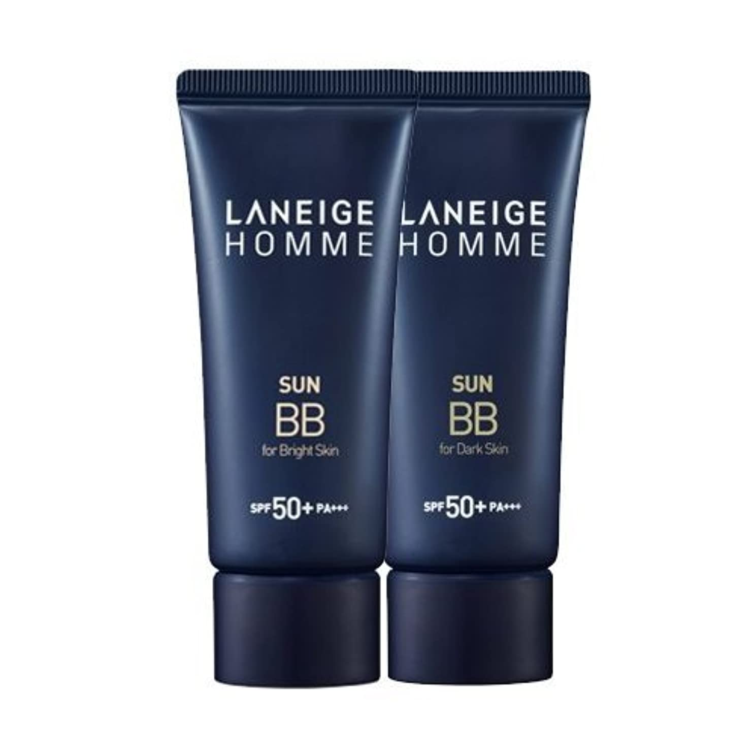 遅滞お父さん残酷なKorea Cosmetics 2014 Advanced Laneige Homme Sun BB Cream (SPF50+/PA+++) - #Dark skin