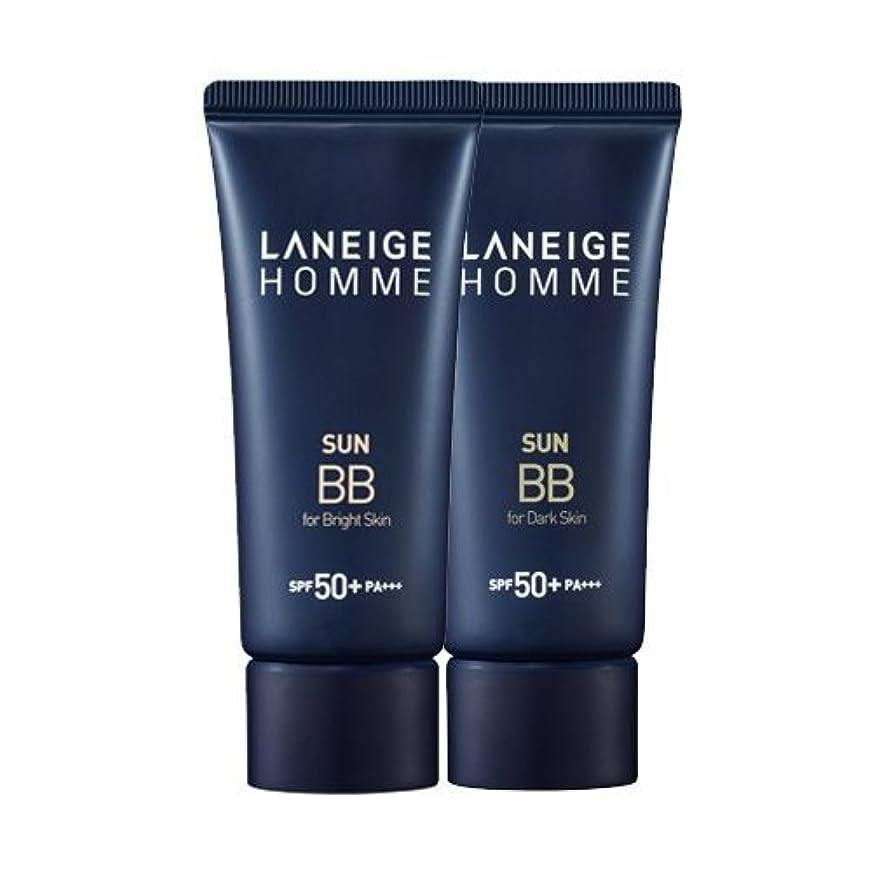 情熱的センチメンタル強打Korea Cosmetics 2014 Advanced Laneige Homme Sun BB Cream (SPF50+/PA+++) - #Dark skin