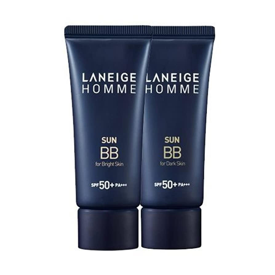 弾薬家庭教師罰するKorea Cosmetics 2014 Advanced Laneige Homme Sun BB Cream (SPF50+/PA+++) - #Dark skin