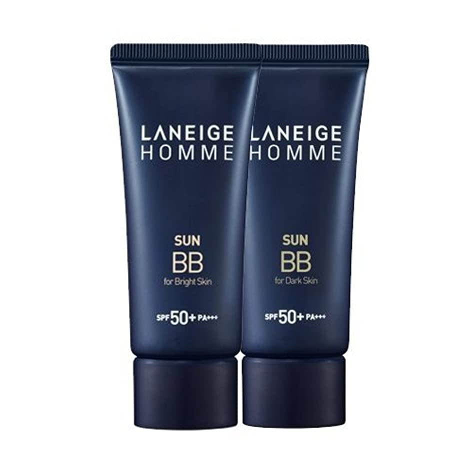 飲食店ファウルきれいにKorea Cosmetics 2014 Advanced Laneige Homme Sun BB Cream (SPF50+/PA+++) - #Dark skin