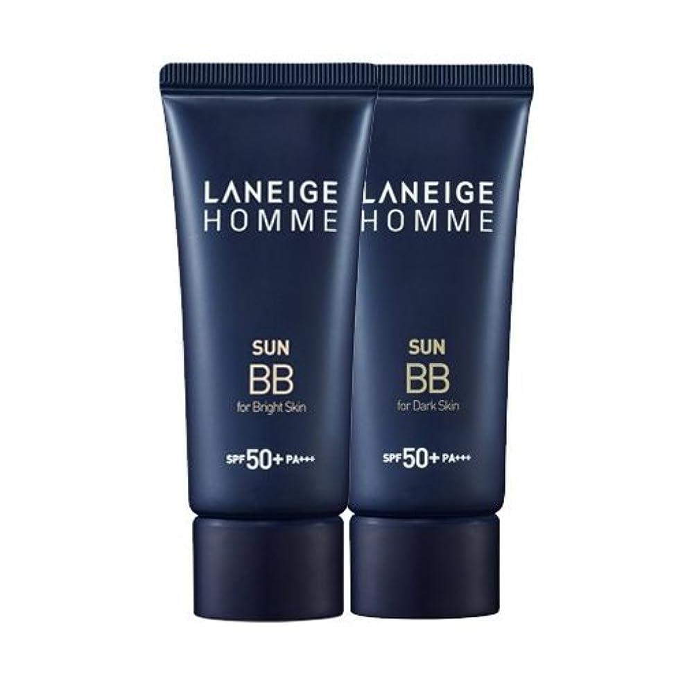 東部メーター上に築きますKorea Cosmetics 2014 Advanced Laneige Homme Sun BB Cream (SPF50+/PA+++) - #Dark skin
