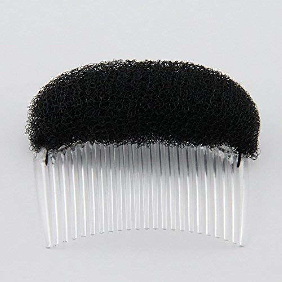 いつか計器ジョガー1PC Charming BUMP IT UP Volume Inserts Do Beehive hair styler Insert Tool Hair Comb Black/Brown colors for choose...