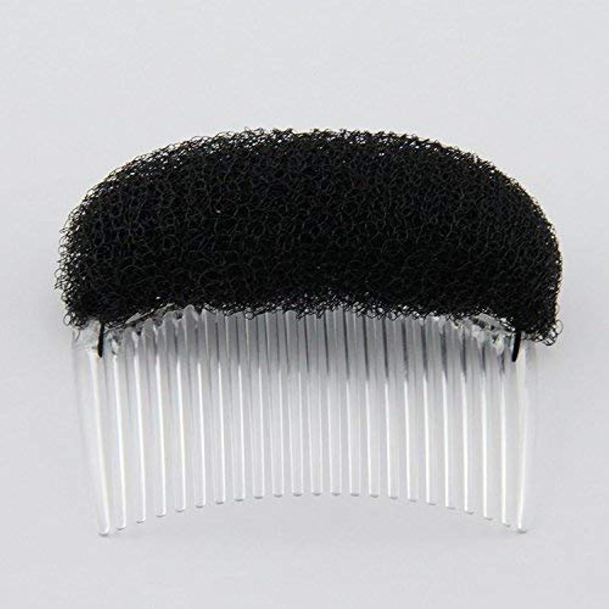 有効な頭アラバマ1PC Charming BUMP IT UP Volume Inserts Do Beehive hair styler Insert Tool Hair Comb Black/Brown colors for choose...