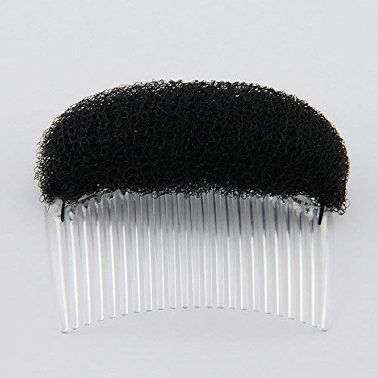 フォロー家畜周波数1PC Charming BUMP IT UP Volume Inserts Do Beehive hair styler Insert Tool Hair Comb Black/Brown colors for choose...