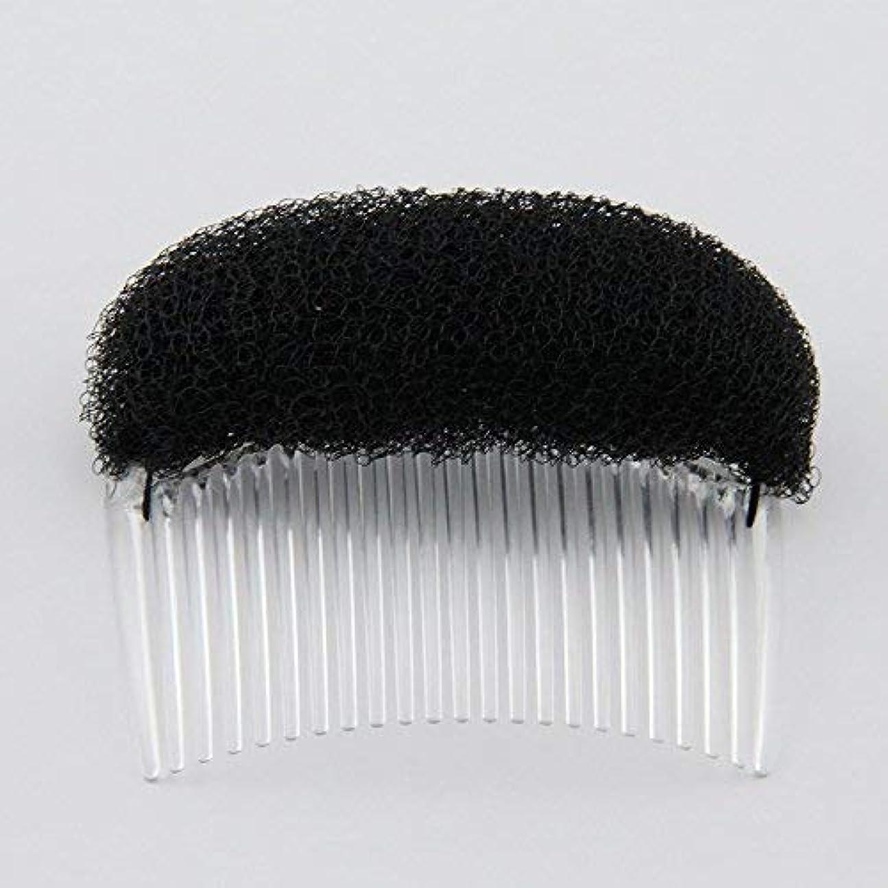 昇る謙虚な高揚した1PC Charming BUMP IT UP Volume Inserts Do Beehive hair styler Insert Tool Hair Comb Black/Brown colors for choose...