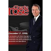 Charlie Rose (December 17, 1998) [並行輸入品]