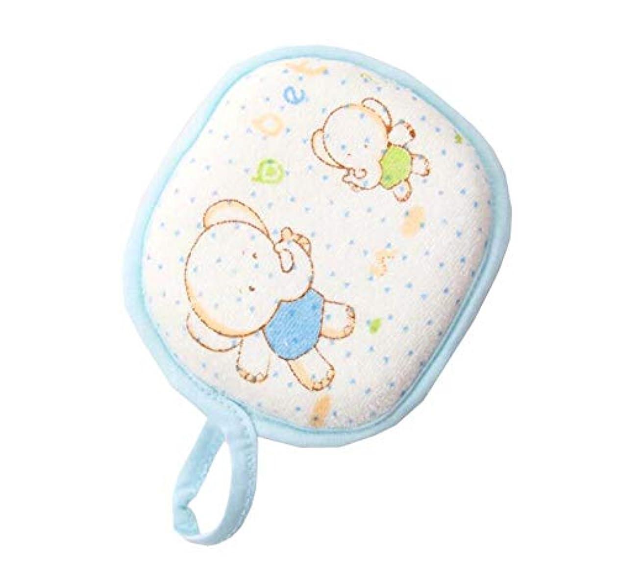 最小小切手肥満赤ちゃんの柔らかい肌のフルーツの形に適した赤ちゃんのバススポンジ