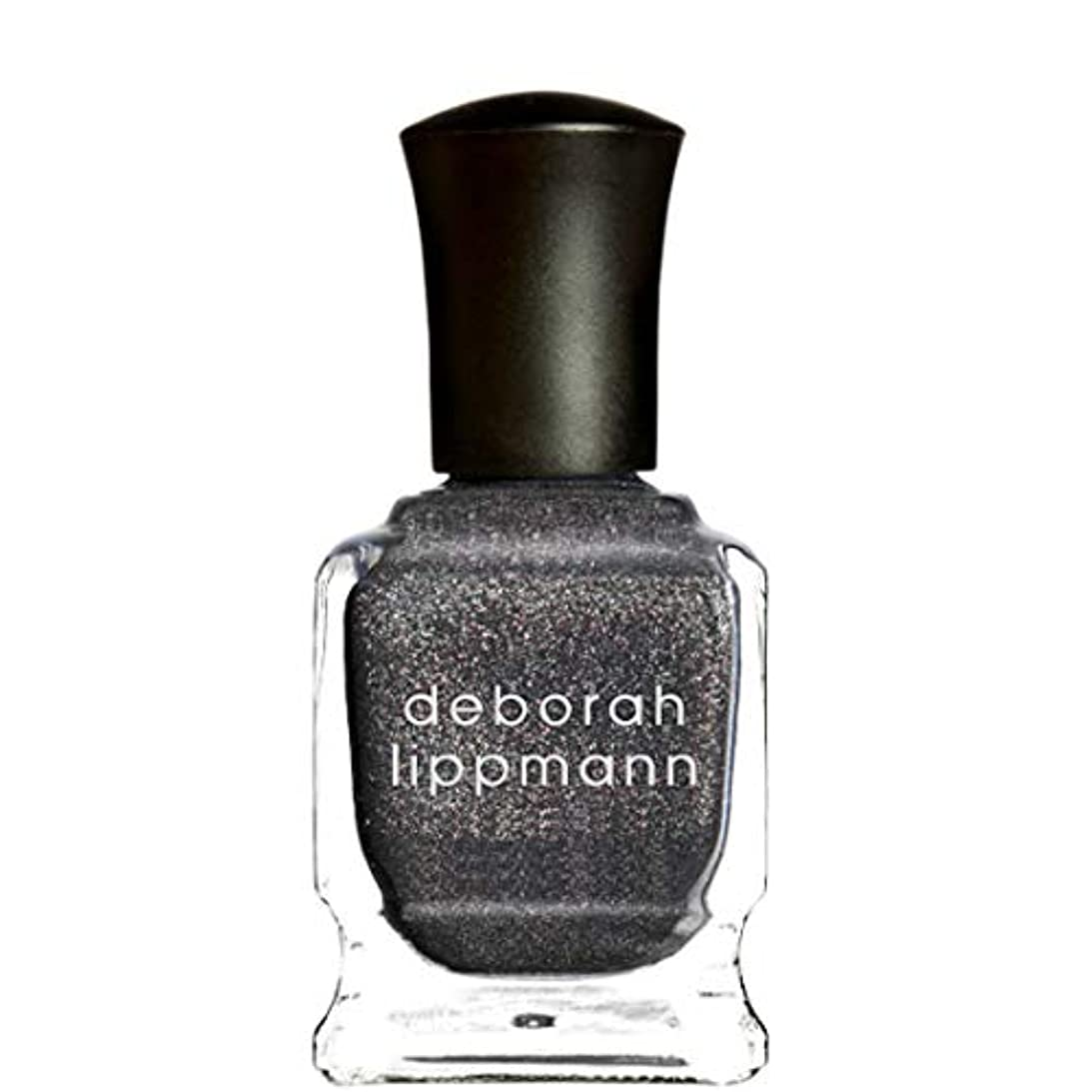 蒸必要条件試みる[Deborah Lippmann] デボラリップマン ネイルポリッシュ ジェルラボプロ ミニ 8mL (チャコールシマー) BLACK MAGIC WOMAN ブラック マジック ウーマン