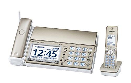 パナソニック デジタルコードレスFAX 子機1台付き 迷惑電話対策機能搭載 シャンパンゴールド KX-PD604DL-N