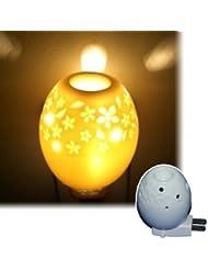 アロマオールナイト オーバル 生活の木 アロマランプ(電気式芳香器)