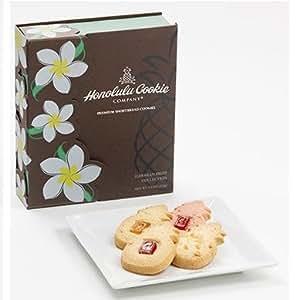 【2箱セット】ホノルルクッキー★Flower Wrap Box - Plumeria フラワーラップボックス プルメリア (4種フレーバー 合計12枚入り)