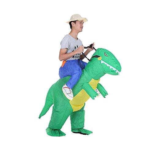Anself コスプレ ハロウィン 怪獣 恐竜 インフレータ...