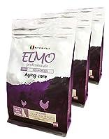 エルモ プロフェッショナーレ ドッグフード シニア リッチ in チキン エイジングケア 6歳以上 800g×3pセット (2.4kg) シニア犬向け 高バランス栄養食