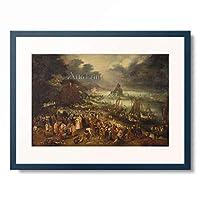 ヤン・ブリューゲル(父) Jan Brueghel de Oude 「Christ Preaching from the Boat」 額装アート作品