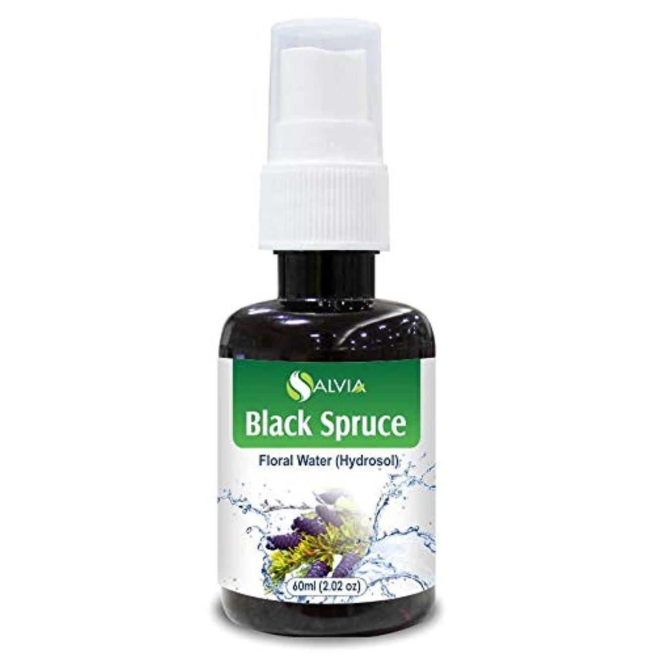 登るマーチャンダイジング突撃Black Spruce Floral Water 60ml (Hydrosol) 100% Pure And Natural