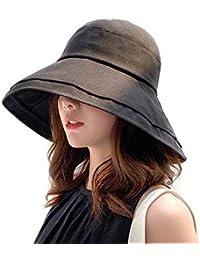 帽子 UVカット ハット レディース 紫外線対策 日焼け防止熱中症予防 取り外すあご紐 つば広 おしゃれ 可愛い 夏季 女優帽 小顔効果抜群折りたたみ サイズ調節可 旅行 自転車 農作業