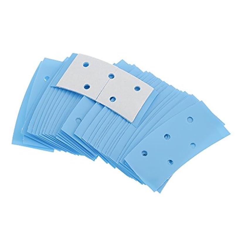 ハリケーン強度乳白36ロットミニ高品質両面ヘアシステムテープ接着剤超強力なホールドブルーのバルクロット