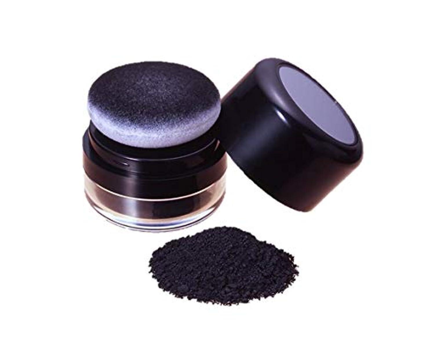 顕微鏡明確に添加トミーリッチ ヘアーファンデーション ブラック