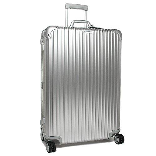 (リモワ) RIMOWA リモワ スーツケース RIMOWA 923.77.00.4 TOPAS トパーズ 81.5CM 98L 10泊用 4輪 TSAロック付 キャリーケース SILVER [並行輸入品]