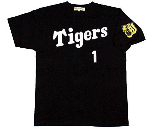 阪神タイガース「鳥谷 背番号Tシャツ」黒 フリーサイズ