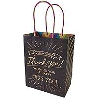 クラフトギフトバッグM Board BK / 1枚 TOMIZ(富澤商店) 手提げ袋 紙製袋