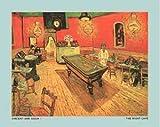 ポスター フィンセント ファン ゴッホ Night caf_ with pool table