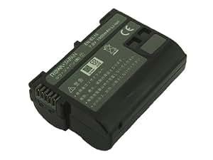 【実容量高】【残量表示&純正充電器対応】 NIKON ニコン D500 D800 D800E D600 D7000 の EN-EL15 互換 バッテリー【ロワジャパンPSEマーク付】