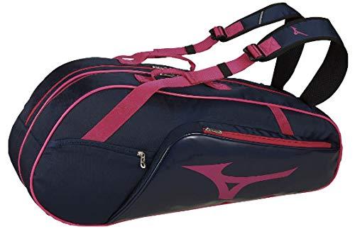 ミズノ(MIZUNO) 硬式・ソフトテニス バドミントン ラケットバッグ(6本入れ) 63JD9007