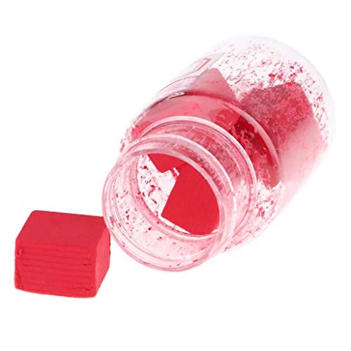 魚スペル城Perfeclan 口紅作り DIY リップスティック原料 赤面原料 無ワックス 無粉砕 無飛翔粉末 9色選択でき - B