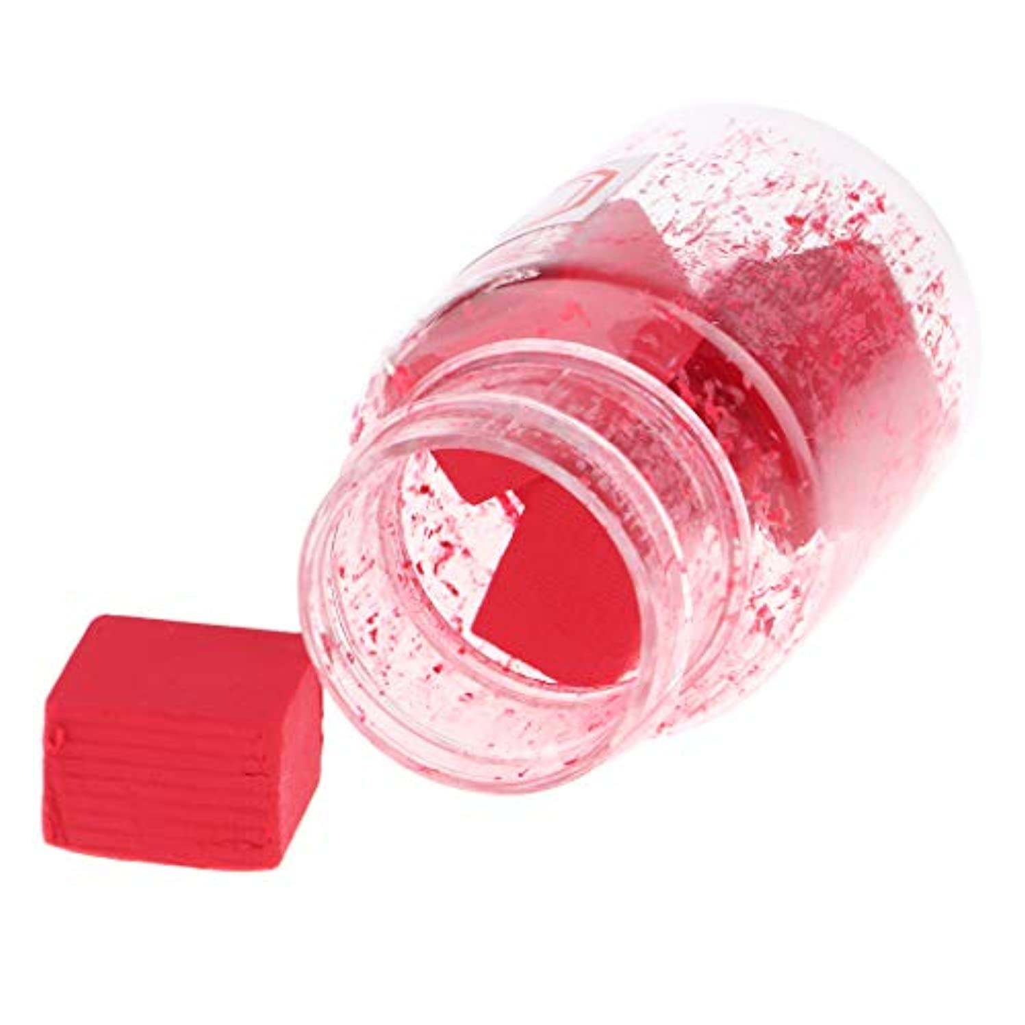 トライアスリートフェッチに勝るPerfeclan 口紅作り DIY リップスティック原料 赤面原料 無ワックス 無粉砕 無飛翔粉末 9色選択でき - B